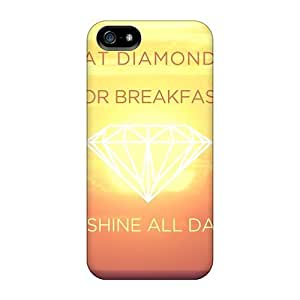 New Fashion Premium PC For SamSung Galaxy Note 3 Phone Case Cover - Eat Diamonds For Breakfast