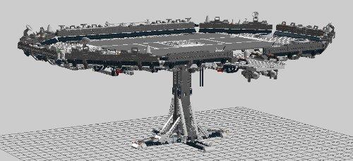 Bauleitung für Star Wars TM Plattform aus LEGO ® Steinen z.B für 10179 7964 7965 8088 8095 8097 (Wars-flotte Star)