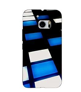 Joe Printed Plastic Back Case for HTC M10 Mobile ( Multicolor)