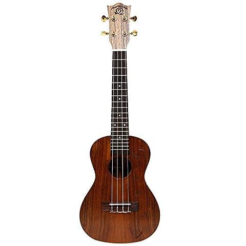 Schnecke, Ukulele Anfänger Kleine Gitarre Instrument zu senden eine Full Set von Zubehör ukc-486
