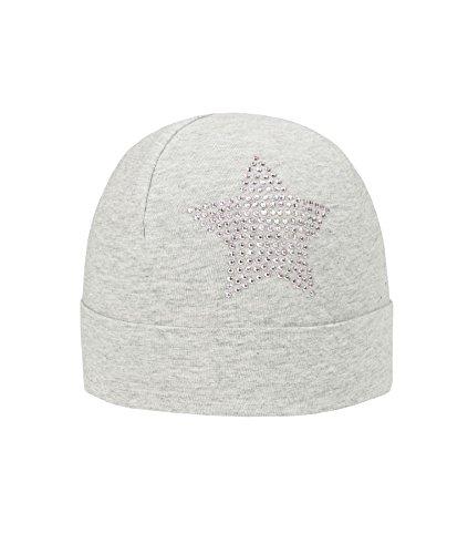 Döll Topfmütze Jersey, Bonnet Fille Gris clair/multicolore