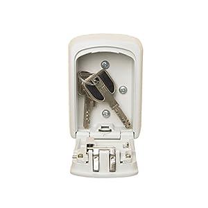 Master-Lock-Aluminium-combination-lock-box-for-keys-discreet-cream-colour
