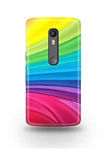 Colorful Lines Moto X Style Case