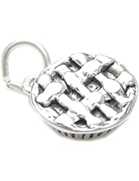 Cornish Pasty sterling silver charm .925 x 1 Food Pasties Charms BJ1013