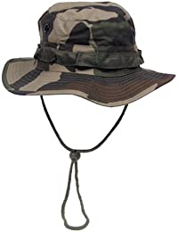 Military Style Rip Stop Boonie Hat Fisher Hat, CCE Camo, Size S to XL