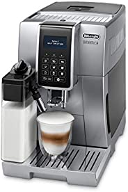De'Longhi Dinamica Fully Automatic Coffee Machine, ECAM 350.75.S, Silver, 1 Year Brand Warr