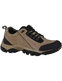 Woodland Men's OGC 2658117_Khaki Leather Boat Shoes-6 UK (40 EU) (7 US) 2658117KHAKI