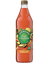 Robinsons Fruit Creations Exotic Pineapple, Mango & Passionfruit, 1 L