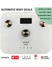 Charge Zero Body Composition Scale (White)