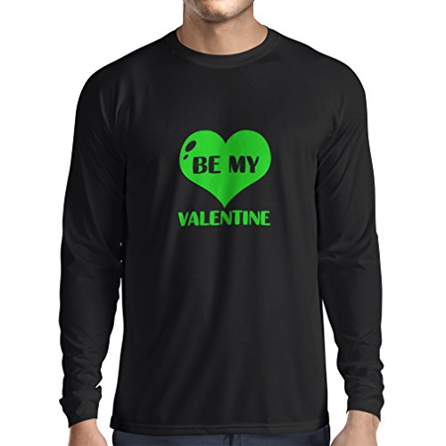 long-sleeve-t-shirt-men-be-my-valentine-quotes-about-love-great-gift-xx-large-black-green