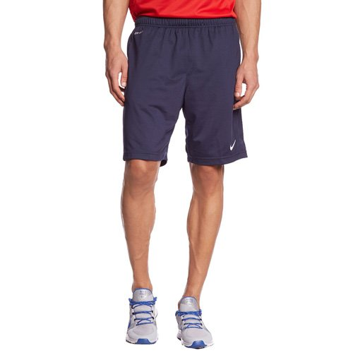 Dri-fit Basketball Short (Nike Herren Shorts Libero Knit, Obsidian/White, XXL, 588457-451)