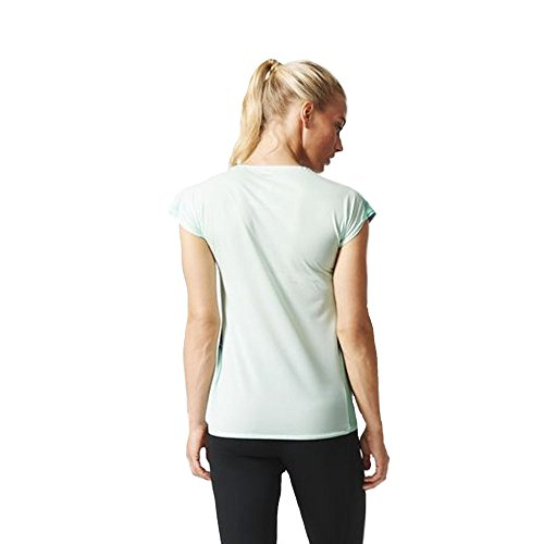 Adidas Adizero manches courtes T-shirt de course Vert - Vert