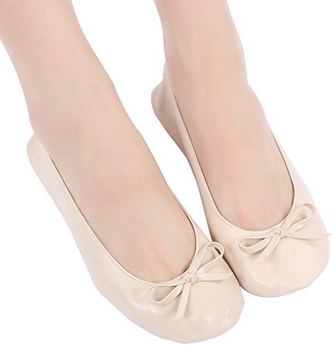 Aohaolee - Ballet donna Beige