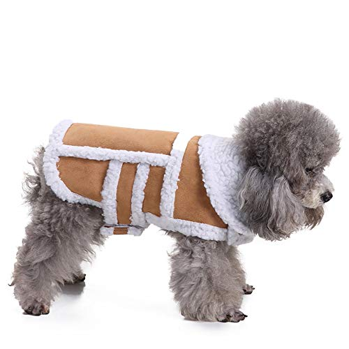 OHQ Dog Warmer Mantel, Hundejacke, Winter Hundebekleidung für -