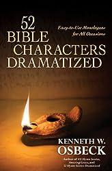 52 BIBLE CHARACTERS DRAMATIZED PB