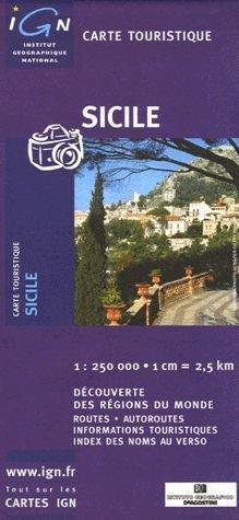 Carte touristique : Sicile Pdf - ePub - Audiolivre Telecharger