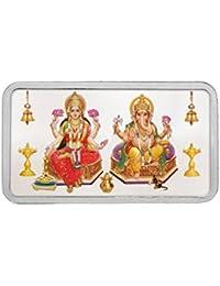 Kundan 20 gm, Silver Lakshmi & Ganesh Ji Precious Coin