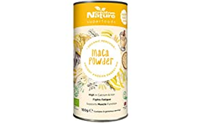 Creative Nature Raw Organic Peruvian Maca Powder 150 g