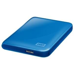 Western Digital WDBACY5000ABL My Passport Essential 500GB externe Festplatte (6,4 cm (2,5 Zoll) USB 3.0) blau