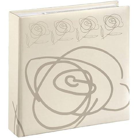 Hama Wild Rose Album Foto, 200 Foto, 10x15, Bianco