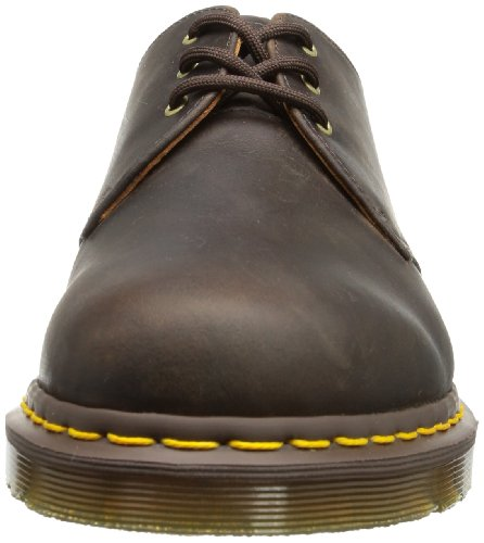 Dr Martens 1461 Pw Analine, Chaussures de ville mixte adulte Marron (Gaucho Crazy Horse)