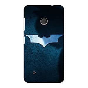Cute Blueish Knight Back Case Cover for Lumia 530