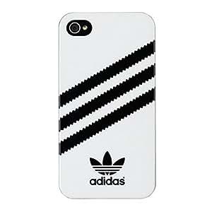 adidas 15845 Coque rigide pour iPhone 4/4S Blanc/Noir
