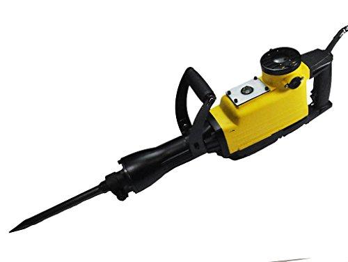 STAHLFUCHS 2500 W Abbruchhammer Meißelhammer Stemmhammer inkl. Zubehör ( Spitzmeißel, Flachmeißel, Zusatzhandgriff ) Hammer Bohrhammer