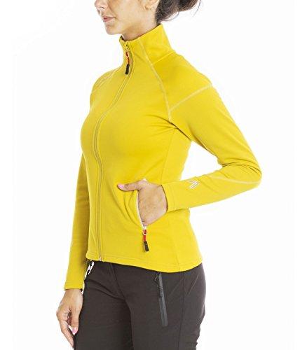 Veste chaude zippée en 3D FLEX Power WARMIT 2 Femme Bronze