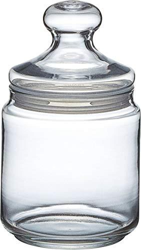 ot Club Dose mit Deckel, Vorratsglas, Bonbondose, 750 ml, Glas, transparent, 1 Stück ()