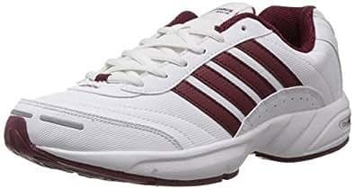 Columbus Men's Alcott White and Rust Mesh Running Shoes - 11 UK (ALCOTTWHTRUST011)
