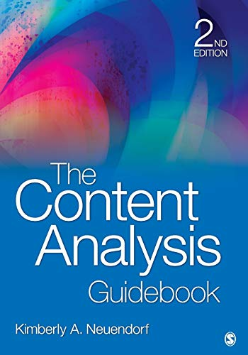 The Content Analysis Guidebook (NULL)
