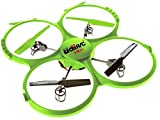 UDI 818A HD + RC Quadrocopter Drohne mit 720p HD-Kamera - DCM-Modus und Rückholfunktion - 360-Grad-Flips - Inkl. BONUS BATTERIE für verdoppelte Flugzeit (exklusiv bei USA Toyz)