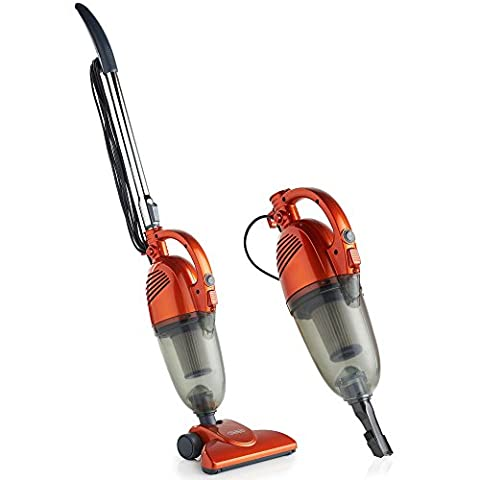 VonHaus 1000W 2-in-1 Upright Stick & Handheld Vacuum Cleaner with HEPA and Sponge Filtration & Crevice