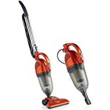 VonHaus Stick Vacuum Cleaner Corded – 2 in 1 Upright & Handheld Vac with Lightweight Design, HEPA Filtration, Crevice Tool & Upholstery Brush