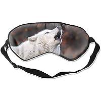 Schlafmaske/Augenmaske mit Wolf-Aufdruck, modisch preisvergleich bei billige-tabletten.eu