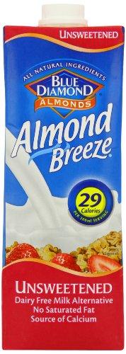 Blue Diamond - Beverages - Unsweetened Original Almond Breeze - 1L