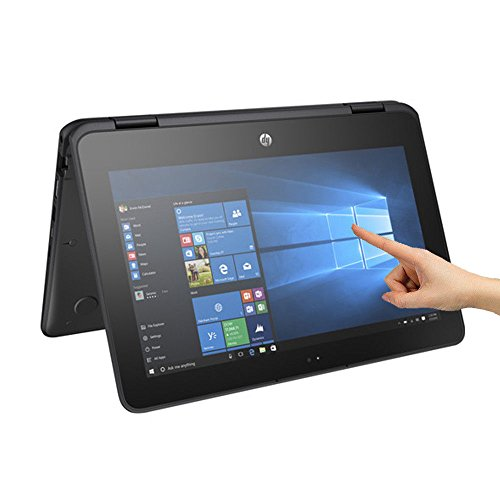 "HP ProBook x360 11 G1 (2RS50ES#ABU) 11.6"" Convertible Laptop Tablet Intel Celeron N3350 Processor, 4GB RAM, 64GB Storage, Touchscreen HD Display, 360° Flip Design, Battery Upto 11 Hours, Windows 10 S"