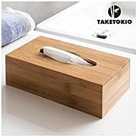Bambus Taschentuchspender Kosmetiktücher Kosmetiktücherbox Tücherbox Kosmetikbox