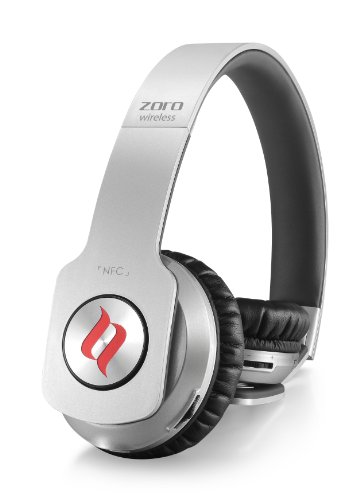 Noontec MF3116(S) Zoro Bluetooth On-Ear-Kopfhörer Wireless (3,5mm Klinke) silber