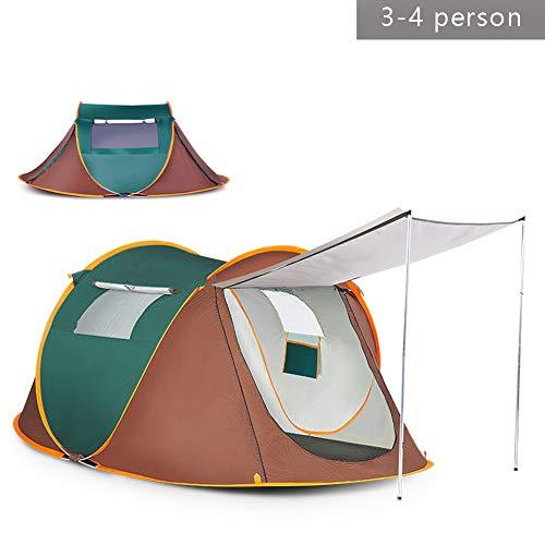 Automatisch Sofortiges Popup Zelt 3-4 Personen / 5-8 Personen, 260X150x105cm / 280 x 200 x 120 cm, Für Camping Einschichtig 1 Zimmer Wasserdicht Anti-UV Vier Jahreszeiten Ultraleicht 1,6-2 kg Zelt (Dance Stangen Für Zuhause)