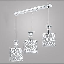 moderno colgante lmpara candelabro creativo lmpara de techo araa de luces plafn focos colgantes hierro iluminacin decorativa blancos para trabajo