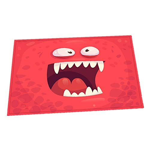 Hehh Tuoba Fish Halloween Matten Türmatten/Badezimmer Matten/Küchen Matten Zu Hause Rotes Wohnzimmer