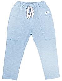 Oceankids Pantalon de Couleur Slim Jogging Sport pour Enfant Garcon