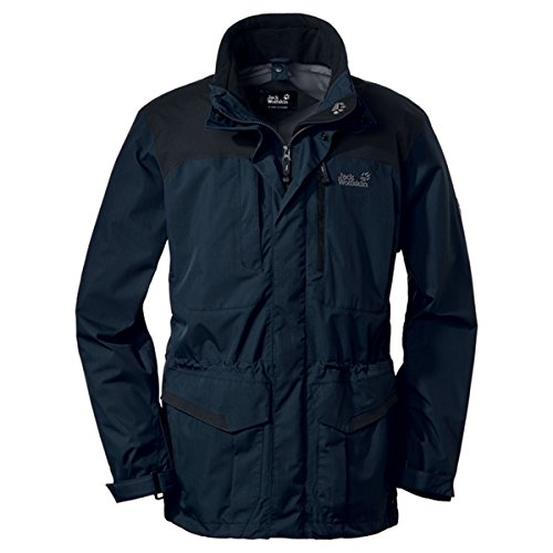 Jack Wolfskin KAILASH PARKA MEN blue graphite