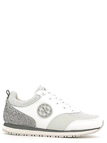 Guess Flree3 Lea12 Sneaker DONNA Bianco, Taglia 37