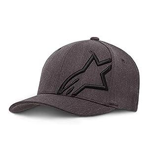Alpinestars Herren Hat/Beanie Corp Shift 2 Flexfit Hat, Dk Heather Gray/Black, L/XL