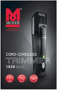 Moser 1030-0410, Basic Trimmer With Rinseable Bladeset (Pack of 1)