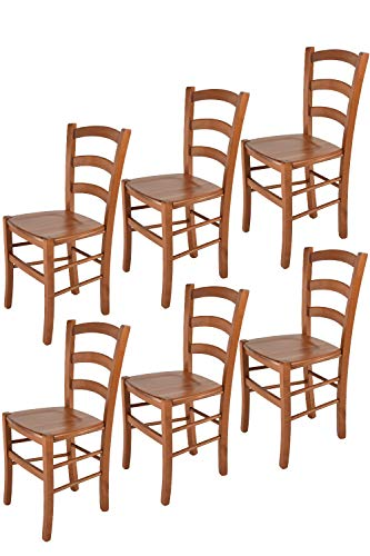 Tommychairs sillas de Design - Set 6 sillas Modelo Venice para Cocina,...