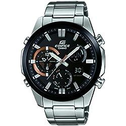 Casio Herren-Armbanduhr Edifice Analog - Digital Quarz Edelstahl ERA-500DB-1AER